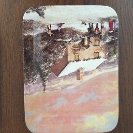 Limited edition Davenport Christmas plates