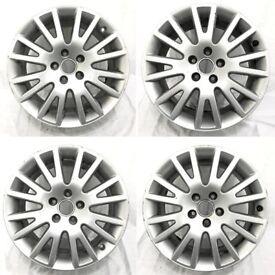 Genuine Audi 17 inch alloy wheel set