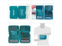 """Makita T-01725 Contractor Bit Set 78 Pc 1/2"""" 1/4 3/8 Quick Fit for Impact Driver"""