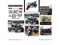 last 2 electric quads 3 speed 800w up to 20mph -4 -3 wheel mini moto £350 each kids toy quads etc
