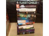 Various paperback books - 15 books