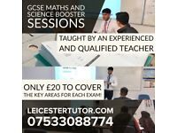 Last Second Tuition for GCSE Science and Maths Exams / Qualified Teacher PGCE / Tutor