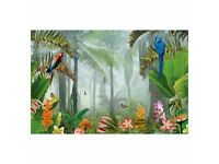 Ikea Large Rainforest Picture