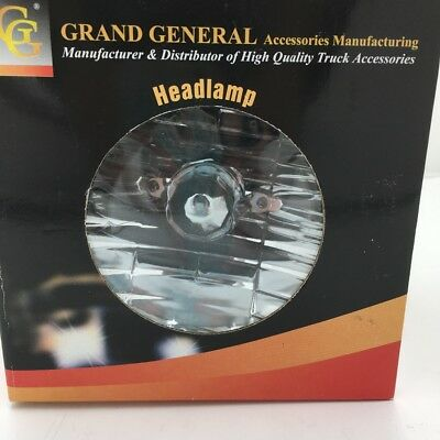 grand general 5 3 4 round headlamp 77422 w 9007 halogen bulb high low