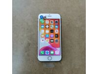 APPLE IPHONE 7 128GB ROSE GOLD UNLOCKED WITH RECEIPT