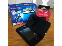 Nintendo 3DS XL Pokémon X metallic blue