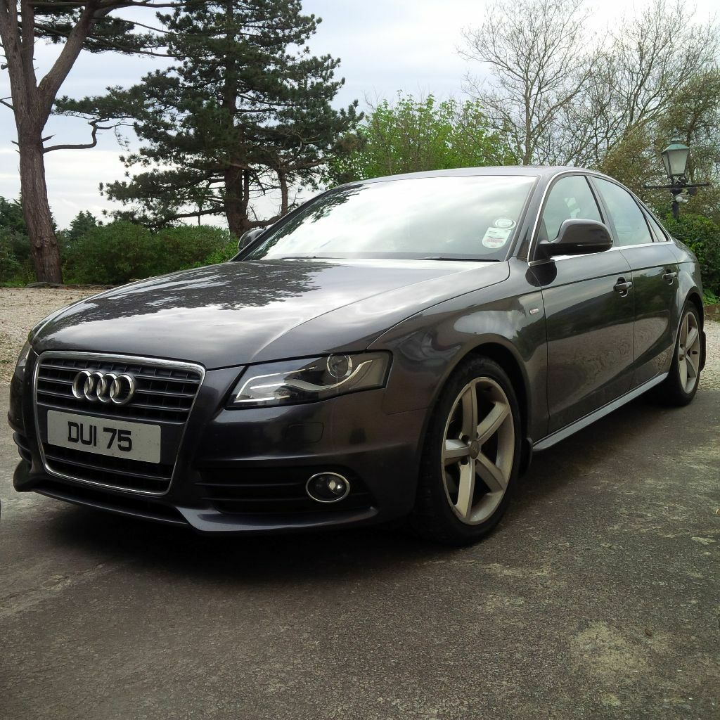 2009 audi a4 2 0 tdi s line lava grey in botanic. Black Bedroom Furniture Sets. Home Design Ideas