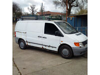 Mercedes Benz VITO 110 CDI double sliding door 3 seats panel van.