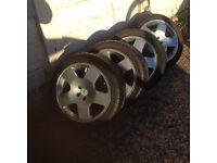 """17"""" Audi TT alloy wheels and tyres"""