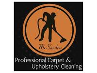 Professional Carpet and Upholstery Cleaning - Mr.Sanders