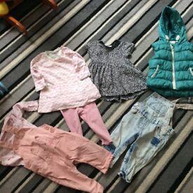 9-12 months girls clothes