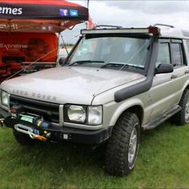 Land rover td5 discovery 2 es 4x4 modified expedition overland swaps vxr