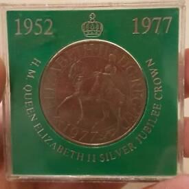 1977 Crown Coin
