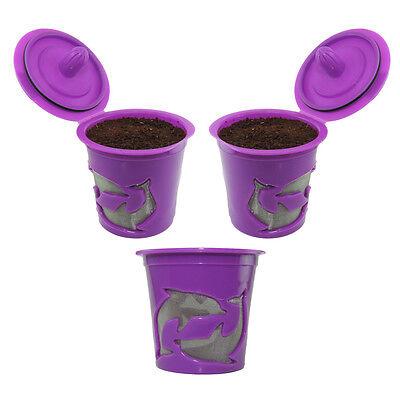 3-Pack Keurig K-Cups Keurig 2.0 & 1.0 Refillable Reusable K-cup Coffee Filter
