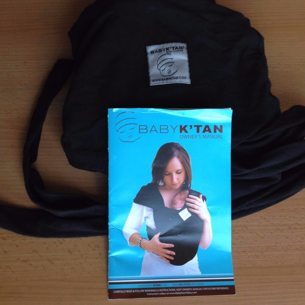 Black Baby K Tan Sling Carrier In Yorkhill Glasgow Gumtree