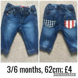 Assorted baby trousers 2
