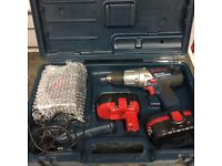 Bosch GSB 18 VE-2 Combi Drill With Case 2xBatteries & Charger