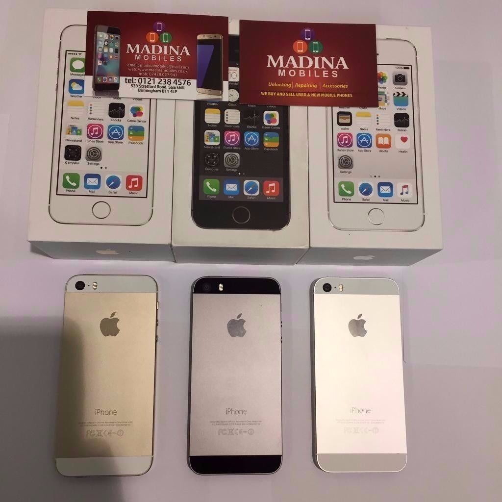 APPLE IPHONE 5S 16GB UNLOCKED BRAND NEW CONDITION COMES WITH WARRANTYSHOP RECEIPTin Sparkhill, West MidlandsGumtree - APPLE IPHONE 5S 16GB UNLOCKED BRAND NEW CONDITION COMES WITH WARRANTY & ALL ACCESSORIES FREE TAMPER GLASS OR A CASE WITH THIS PURCHASE BUY FROM A TRUSTED RETAILER WITH MANY YEARS EXPERIENCE ALL PURCHASES COME WITH A SHOP RECEIPT & WARRANTY. IF YOU...