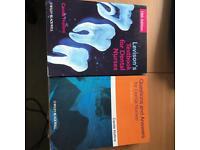 Dental nurse textbooks