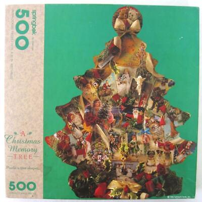 Vintage Springbok A Christmas Memory Tree Jigsaw Puzzle Complete 500 Pieces