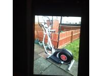 Cross trainer for sale , as new ,