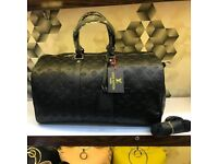 Louis Vuitton Monogram Carry-On Travel Leather Bag
