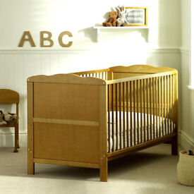 BRAND NEW PINE COT BED AND BRAND NEW MATTRESS