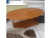Wooden coffee table new lower price