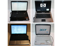Job Lot 19 x Laptops Acer Advent Asus Compaq Dell HP Lenovo Samsung Zoostorm - Spare or Repair