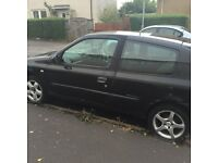 Renault clio for spares or repairs including four alloy where