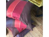 Lovely silk cushions x 4