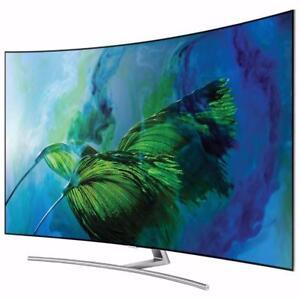 "Samsung 65"" 4K UHD HDR Curved QLED Tizen Smart TV (QN65Q8CAMFXZC)"