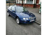 2002 rover 25 , mot aug 2018 , only 85,000miles