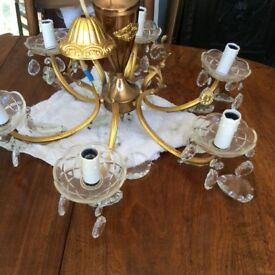 Beautiful French antique chandelier