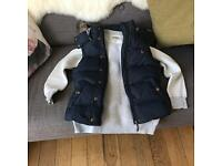 Jack Wills jumper & Gilet size 8 for sale  Aberdeen