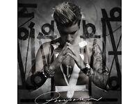 3 Sunday Standing Justin Bieber tickets Glasgow Hydro
