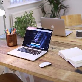 [M32 Stretford] Monthly desk rental in a creative and bright coworking space