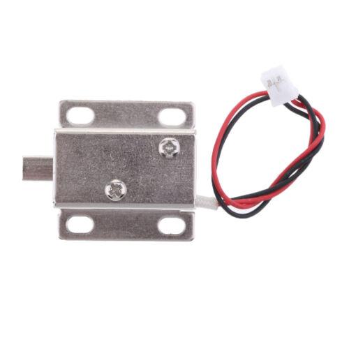 DC 12V 0.42A Mini Door Electric Magnetic Electromagnetic Lock Downwards Bolt