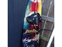 Jobe wakeboard with bindings