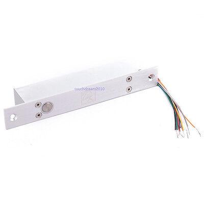 No Mode Fail-secure Dc 12v Stainless Deadbolt Electric Drop Bolt Timer Door Lock