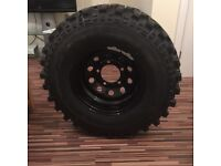 Insa turbo special track tyres set 4 265/75/16 off road tyre brand new