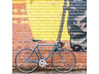 Mens retro style Triumph racer road bike fully restored S/M