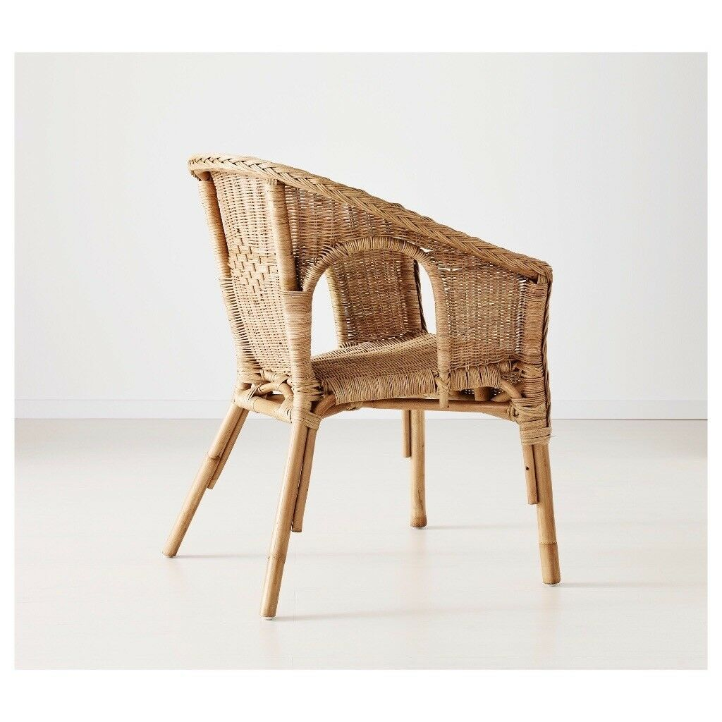 2 Ikea Wicker Chairs