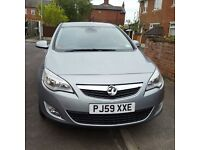 New Shape Astra 59reg, low millage, tinted windows,leather, FSH, HPI clear, mot, excellent condition