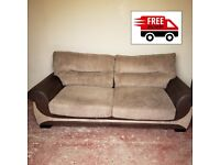 3 seater sofa(delivered free)