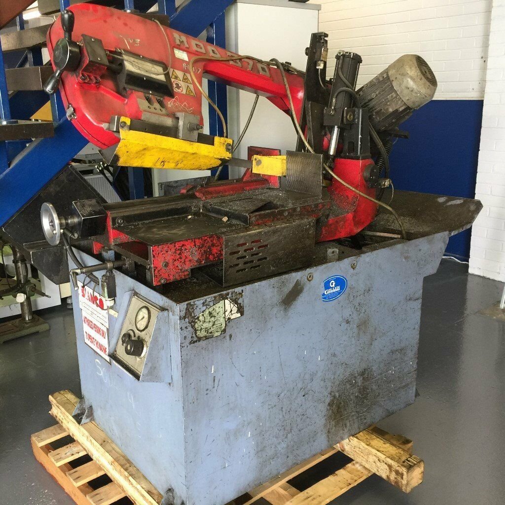 Bianco Semi Auctomatic Bandsaw Model: 370 SAMSDS For Auction