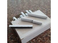 10mm white staples