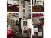 COMPLETE 2BEDROOM FLAT FURNITURE *BEDROOM*BABYROOM*LIVINGROOM*