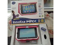 Pink VTech Innotab Max. No scratches, excellent condition boxed. Collection only in Saintfield