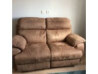 Very good condition 2 seater recliner sofa